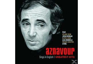 Charles Aznavour - Aznavour Sings In English - Official Greatest Hits - (CD)
