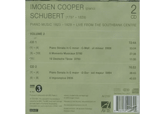 Imogen Cooper - Schubert Piano Music Vol.2 - (CD)