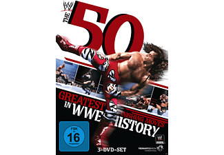 50 Greatest Finishing Moves in WWE History - (DVD)