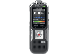 PHILIPS Digitaler 3-Mic Stereo Voice Recorder