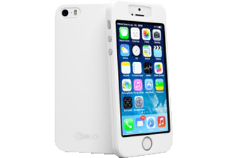 CASEUAL 978009 thinSkin Backcover Apple iPhone 5, iPhone 5s Polycarbonat Polymer Weiß