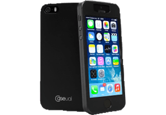 CASEUAL 978008 thinSkin Backcover Apple iPhone 5, iPhone 5s Polycarbonat Polymer Schwarz