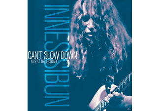 Innes Sibun - Can't Slow Down - Live At The Estrado [CD]
