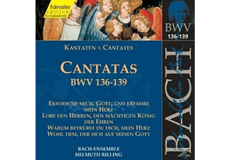 Bach Ensemble - Kantaten Bwv 136-139 - (CD)