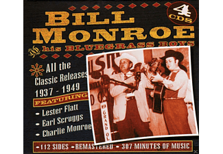 Bill & His Bluegrass Boys Monroe - All The Classic Releases 1937-49 - (CD)