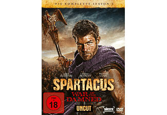Spartacus - War of the Damned - Staffel 3 [DVD]