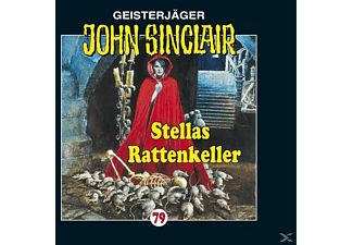 John Sinclair 79: Stellas Rattenkeller - 1 CD - Horror