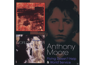 Anthony Moore - Flying Doesn't Help&World Service - (CD)