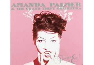 Amanda & The Grand Theft Orchestra Palmer - Theatre Is Evil [CD]