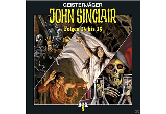 John Sinclair Box 05 - 3 CD - Horror