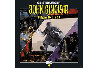John Sinclair Box 04 - 3 CD - Horror