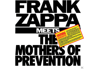 Frank Zappa - Frank Zappa Meets The Mothers Of Prevention - (CD)