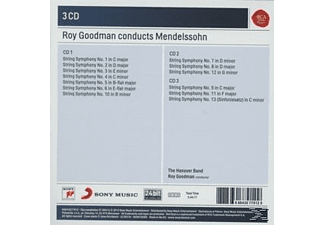 Roy Goodman - Roy Goodman Conducts Mendelssohn String Symphonies - (CD)