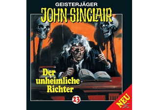 John Sinclair 23: Der unheimliche Richter - 1 CD - Horror