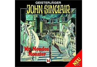 John Sinclair 34: Mr. Mondos Monster (Teil 1/2) - 1 CD - Horror
