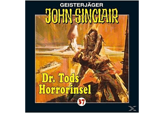 John Sinclair 37: Dr. Tods Horrorinsel - (CD)
