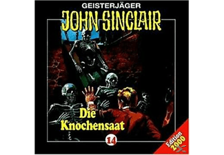 John Sinclair 14: Die Knochensaat - 1 CD - Horror