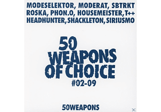 VARIOUS - 50 Weapons Of Choice No.02-10 - (CD)