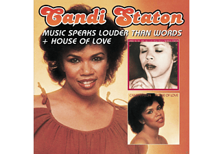 Candi Staton - Music Speaks Louder Than Words-House Of Love - (CD)