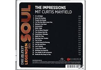Curtis Mayfield;The  Impressions - Die Zeit Edition: Legenden Des Soul [CD]