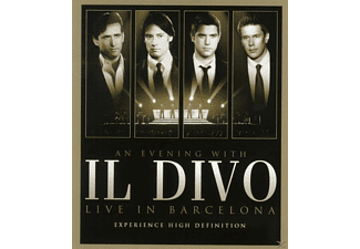 Il Divo - AN EVENING WITH IL DIVO - LIVE IN BARCELONA - (Blu-ray)