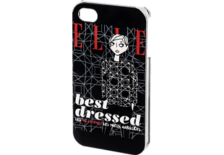 HAMA ELLE best dressed, Apple, Backcover, iPhone 4, iPhone 4s, Kunststoff, Schwarz