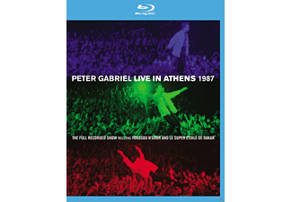 Peter Gabriel - Live In Athens 1987 ( +DVD) [Blu-ray]