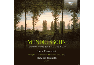 Luca Fiorentini, Stefa Redaelli - Mendelssohn: Complete Works For Cello And Piano - (CD)