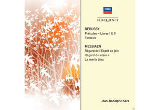 Jean-rudolphe Kars - Debussy: Preludes-Book I & Ii Messiaen: Piano Works - (CD)