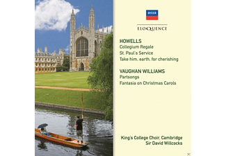 London Symphony Orchestra, Kings College Choir Cambridge - Howells And Vaughan Williams - Choral Music - (CD)