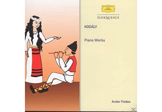Foldes Andor - Kodály: Piano Works - (CD)