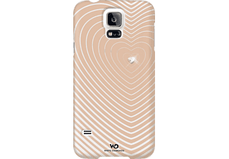 WHITE DIAMONDS Heartbeat, Samsung, Backcover, Galaxy S5, Polycarbonat (PC), Rosegold