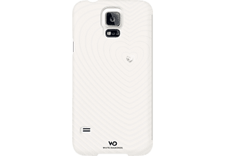 WHITE DIAMONDS Heart, Bookcover, Galaxy S5, Weiß