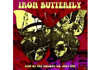 Iron Butterfly - Live At The Galaxy La July 1967 - (CD)