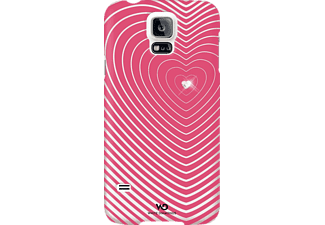 WHITE DIAMONDS Heartbeat, Samsung, Backcover, Galaxy S5, Polycarbonat (PC), Pink