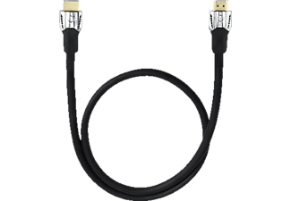 OEHLBACH D1C42502 Matrix Evolution HS HDMI M. ETH. 15.00m, HDMI-Kabel, 15000 mm, Schwarz