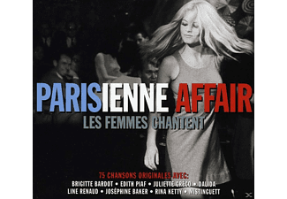 VARIOUS - Parisienne Affair - Les Femmes Chantent [CD]