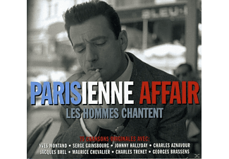 VARIOUS - Parisienne Affair - Les Hommes Chantent - (CD)