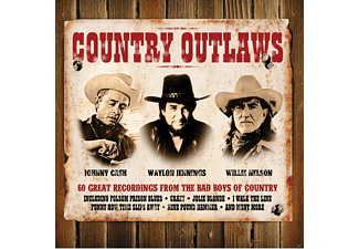Johnny Cash & Waylon Jennings & Willie Nelson - Country Outlaws (CD)