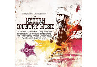 VARIOUS - Modern Country Music - (CD)