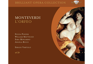 Sylvia Pozzer, William Matteuzzi, Sara Mingardo, Angela Bucci - L'orfeo - (CD)