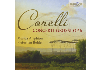 Pieter-jan Belder, Musica Amphion - Concerti Grossi Op.6 - (CD)