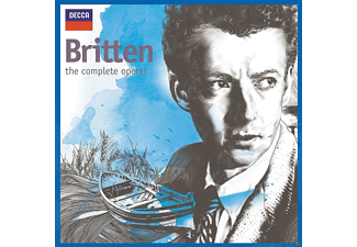 Pears Britten - The Complete Operas - (CD)