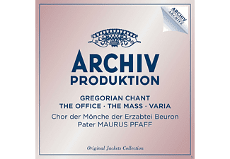 The Monks Of Beuron Archabbey, Chor Der Mönche Der Erzabtei Beuron - Gregorian Chant - The Office - The Mass - Varia [CD]