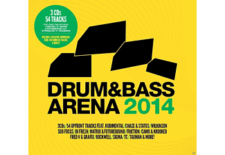 VARIOUS - Drum & Bass Arena 2014 - (CD)