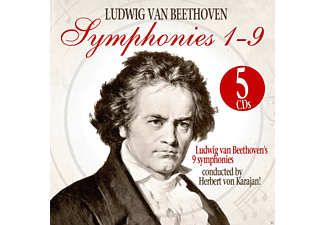 The Philharmonia Orchestra - Symphonies 1-9 - (CD)