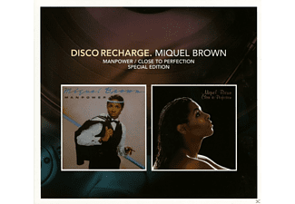 Miquel Brown - Disco Recharge:Manpower/Close To Perfection - (CD)
