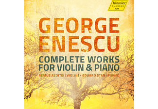 Remus Azoitei, Eduard Stan - George Enescu: Complete Works For Violin & Piano - (CD)