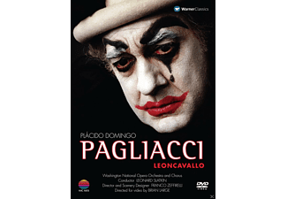 Plácido Domingo, Veronica Villarroel, Manuel Lanza, Washington National Opera, Yurisich Gregory - Pagliacci - (DVD)