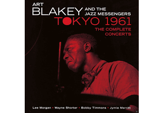 Art Blakey, Lee Morgan, Wayne Shorter, Bobby Timmons, Jymie Merritt, Art Blakey and the Jazz Messengers - Tokyo 1961 - The Complete Concerts - (CD)